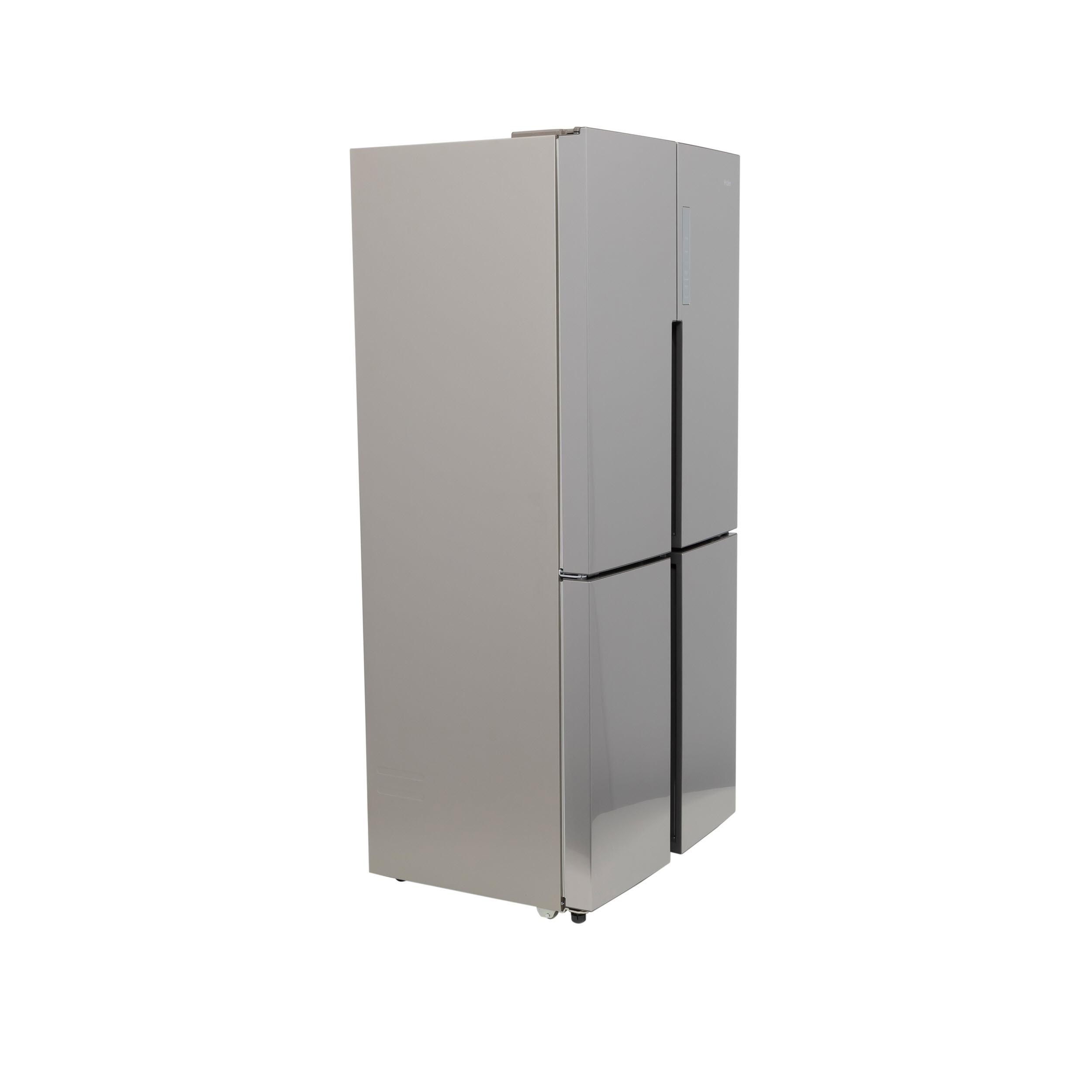 Model: QHE16HYPFS | Haier 16.4 Cu. Ft. Quad Door Refrigerator