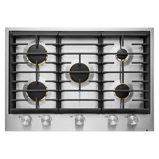 "Jenn-Air Euro-Style 30"" 5-Burner Gas Cooktop"