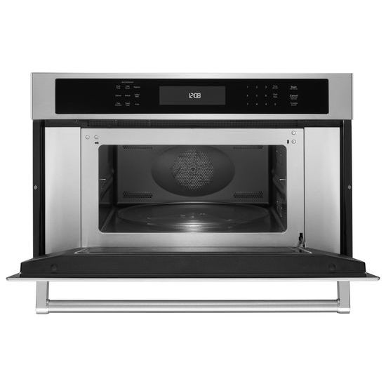"Model: KMBP100ESS | KitchenAid 30"" Built In Microwave Oven with Convection Cooking"
