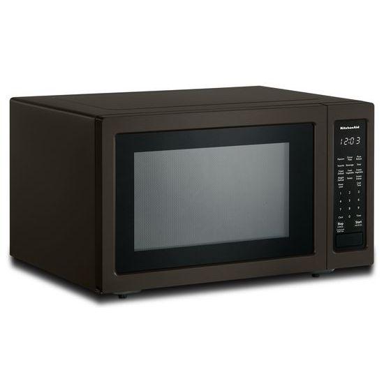 "Model: KMCS1016GBS   KitchenAid 21 3/4"" Countertop Microwave Oven with PrintShield™ Finish - 1200 Watt"