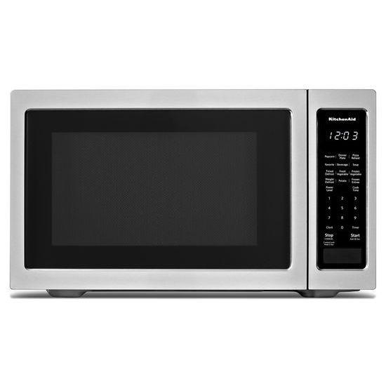 """KitchenAid 21 3/4"""" Countertop Microwave Oven - 1200 Watt"""