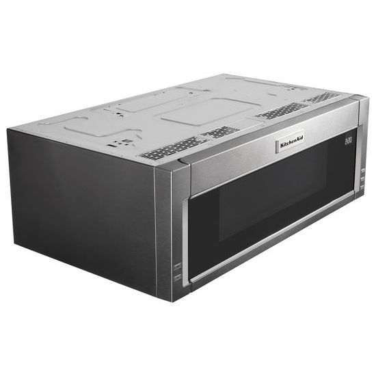 Model: KMLS311HSS | KitchenAid 1000-Watt Low Profile Microwave Hood Combination