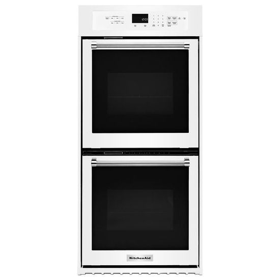"""KitchenAid 24"""" Double Wall Oven with True Convection"""