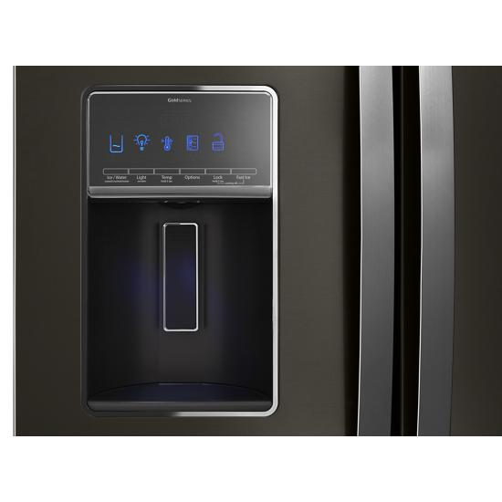 Model: WRF757SDHV | Whirlpool 36-inch Wide French Door Refrigerator - 27 cu. ft.