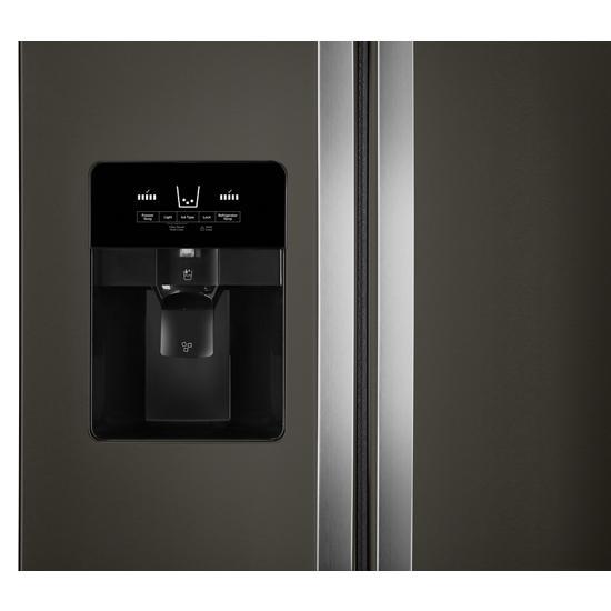 Model: WRS321SDHV   Whirlpool 33-inch Wide Side-by-Side Refrigerator - 21 cu. ft.