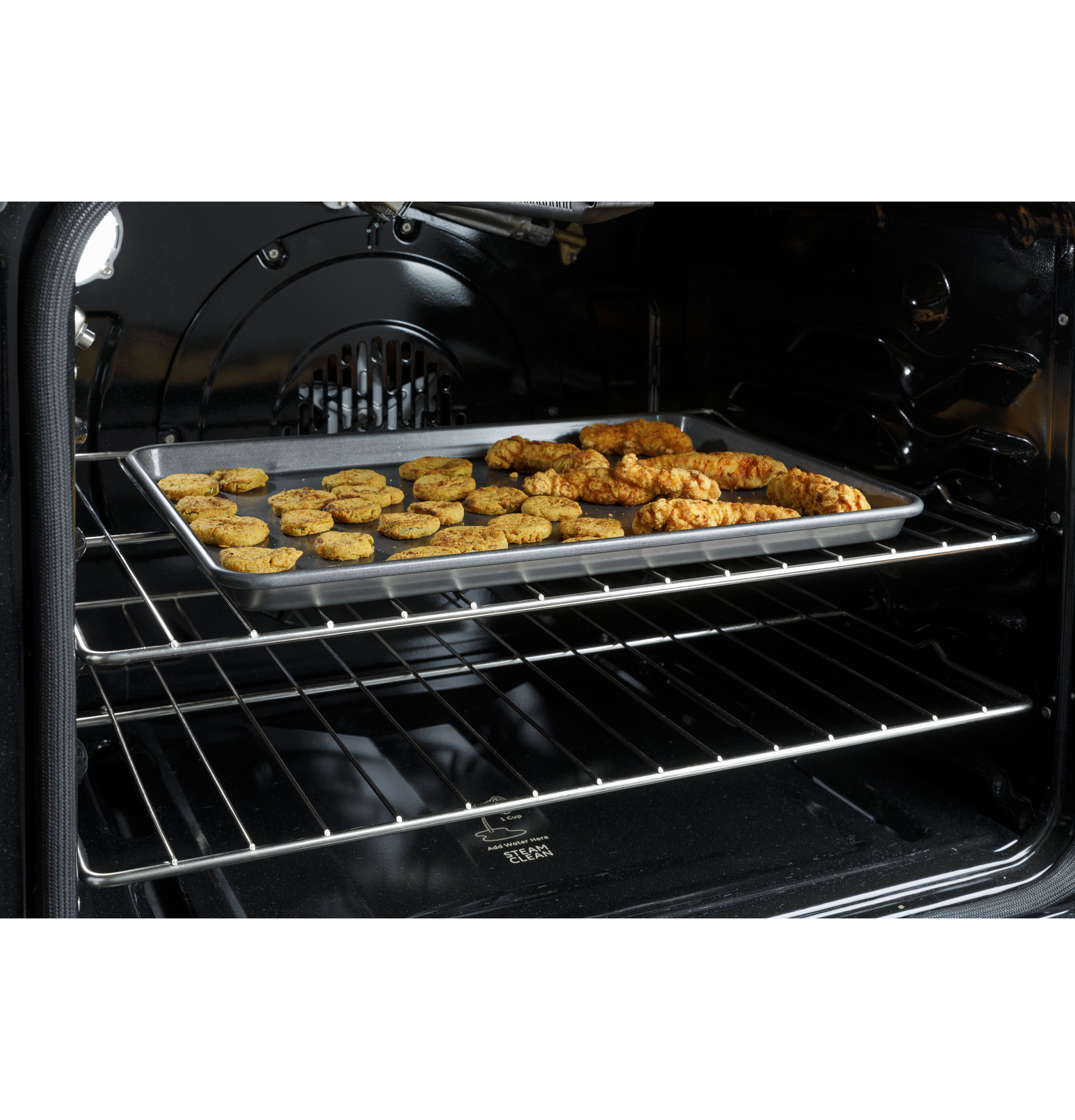 """Model: QSS740BNTS   Haier 30"""" Smart Slide-In Electric Range with Convection"""