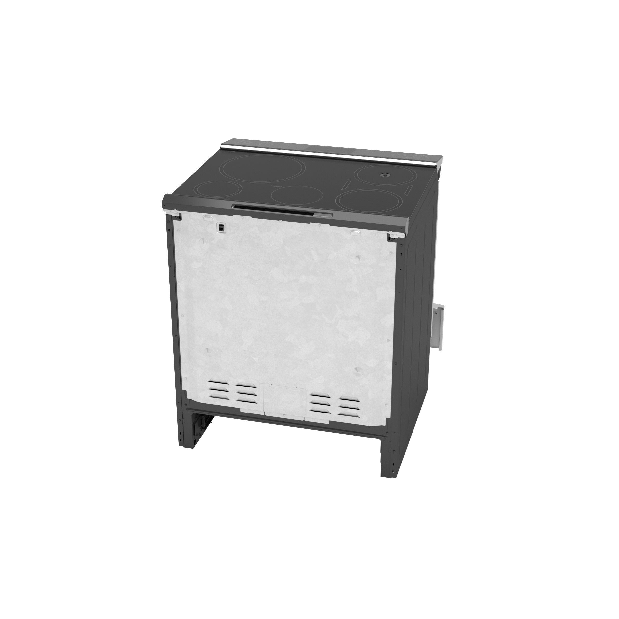"Model: PHS93XYPFS | GE Profile GE Profile™ 30"" Smart Slide-In Front-Control Induction Fingerprint Resistant Range with In Oven Camera"