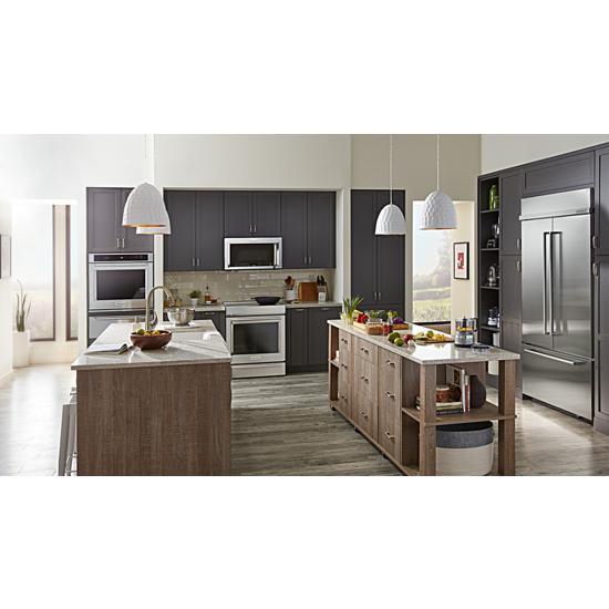 "Model: KBFN502ESS | KitchenAid 24.2 Cu. Ft. 42"" Width Built-In Stainless French Door Refrigerator with Platinum Interior Design"