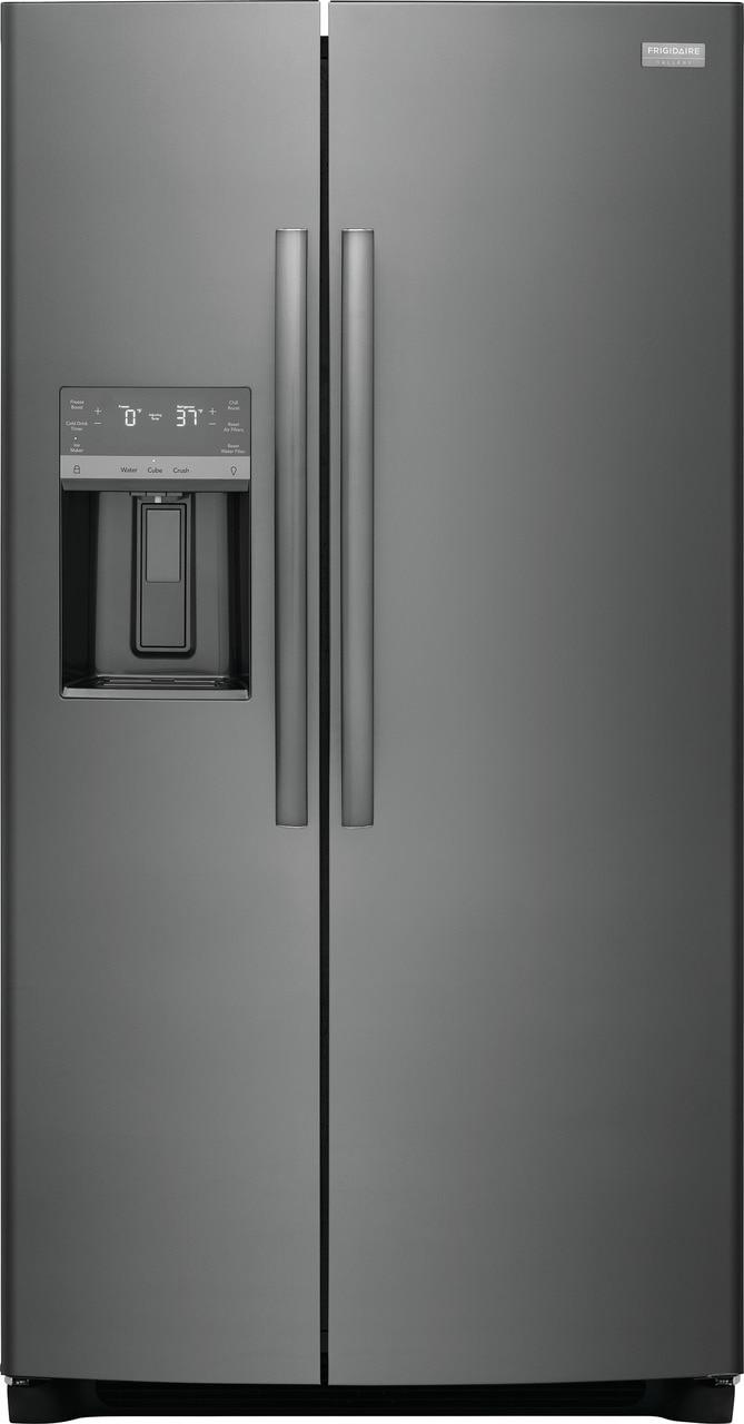 "Model: GRSS2652AD | Frigidaire Gallery 25.6 Cu. Ft. 36"" Standard Depth Side by Side Refrigerator"