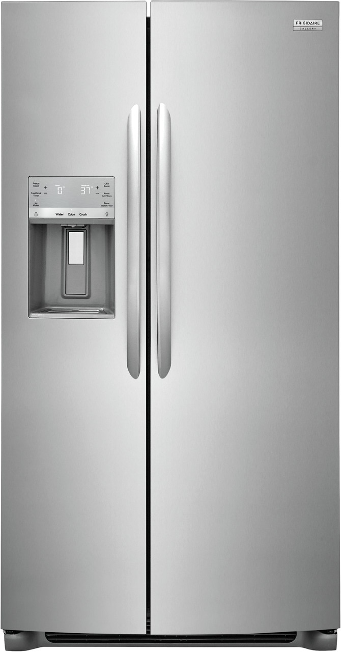 "Frigidaire Gallery 25.6 Cu. Ft. 36"" Standard Depth Side by Side Refrigerator"