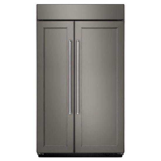 Model: KBSN602EPA | KitchenAid 25.5 cu. ft 42-Inch Width Built-In Side by Side Refrigerator