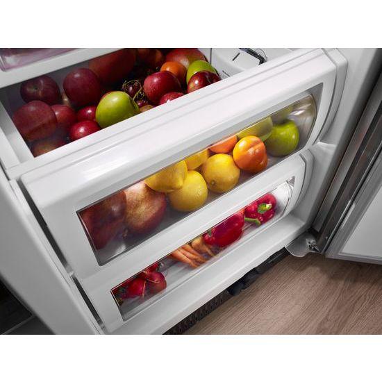 Model: KBSN602ESS | KitchenAid 25.5 cu. ft 42-Inch Width Built-In Side by Side Refrigerator with PrintShield™ Finish