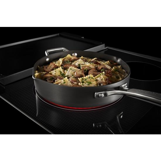 Model: MEC8830HB | Maytag 30-Inch Electric Cooktop with Reversible Grill and Griddle