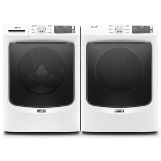 Model: MED6630HW | Maytag Front Load Electric Dryer with Extra Power and Quick Dry Cycle - 7.3 cu. ft.