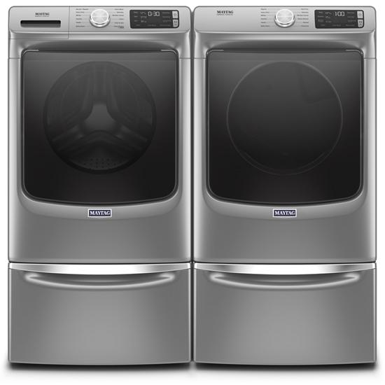 Model: MHW6630HC | Maytag Front Load Washer with Extra Power and 16-Hr Fresh Hold® option - 4.8 cu. ft.