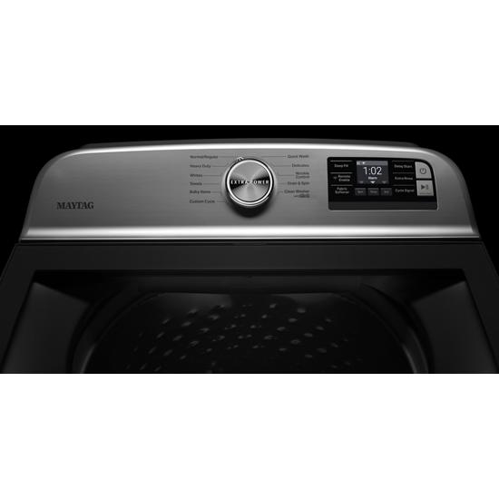Model: MVW6230HC   Maytag Smart Capable Top Load Washer with Extra Power Button - 4.7 cu. ft.