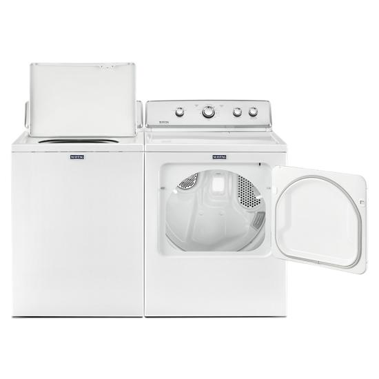 Model: MVWC565FW | Maytag Top Load Washer with the Deep Water Wash Option and PowerWash® Cycle – 4.2 cu. ft.