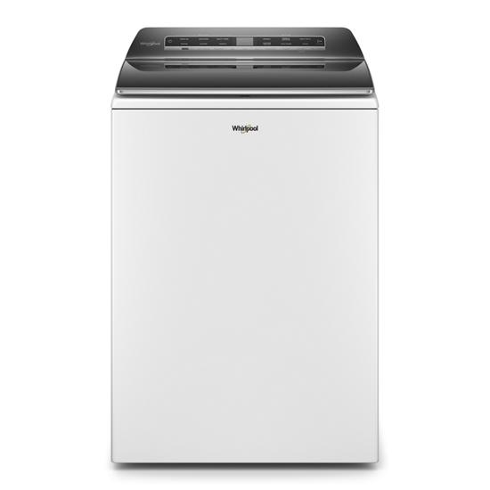 5.2 – 5.3 cu. ft. Top Load Washer with 2 in 1 Removable Agitator