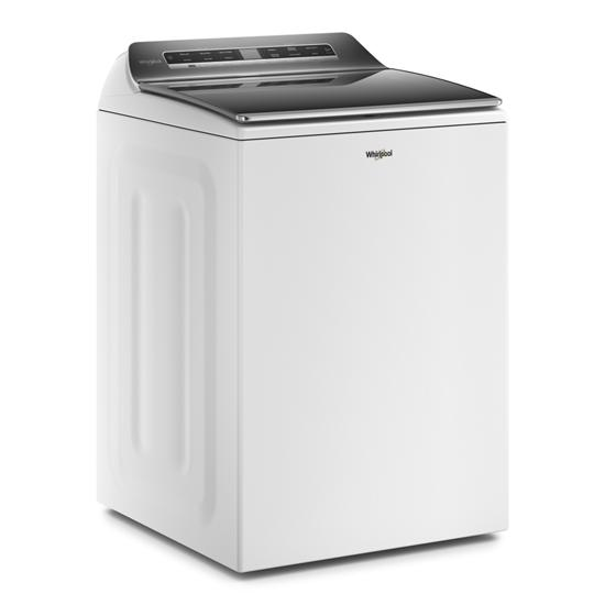 Model: WTW8127LW | Whirlpool 5.2 – 5.3 cu. ft. Top Load Washer with 2 in 1 Removable Agitator