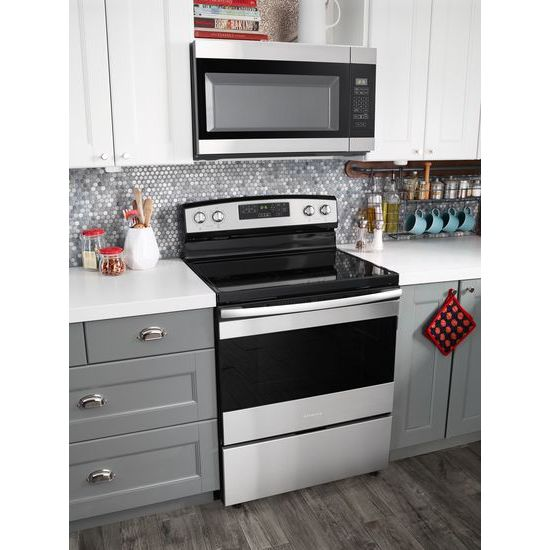 Model: AMV2307PFS | Amana 1.6 Cu. Ft. Over-the-Range Microwave with Add 0:30 Seconds