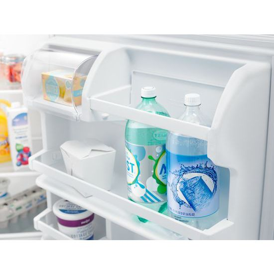 Model: ART318FFDS   Amana 30-inch Amana® Top-Freezer Refrigerator with Glass Shelves