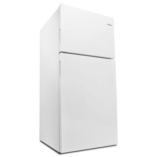 Model: ART318FFDW | Amana 30-inch Amana® Top-Freezer Refrigerator with Glass Shelves