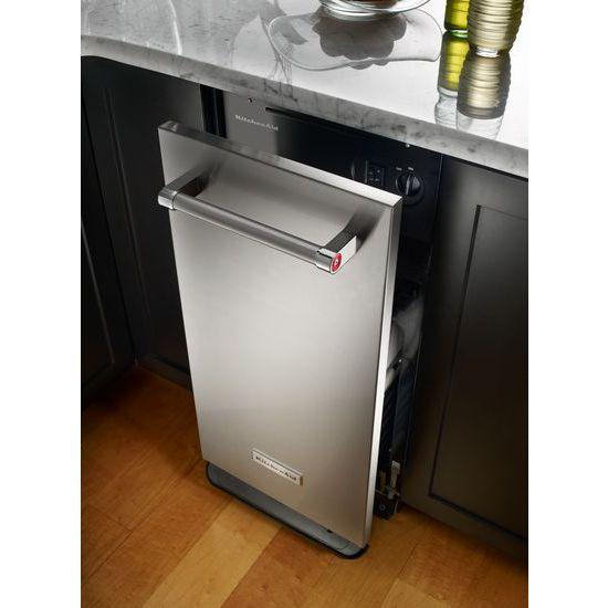 Model: KTTS505ESS | KitchenAid 1.4 Cu. Ft. Built-In Trash Compactor