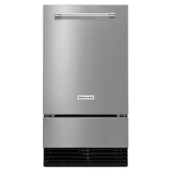 KitchenAid KitchenAid® 18'' Automatic Ice Maker with PrintShield™ Finish