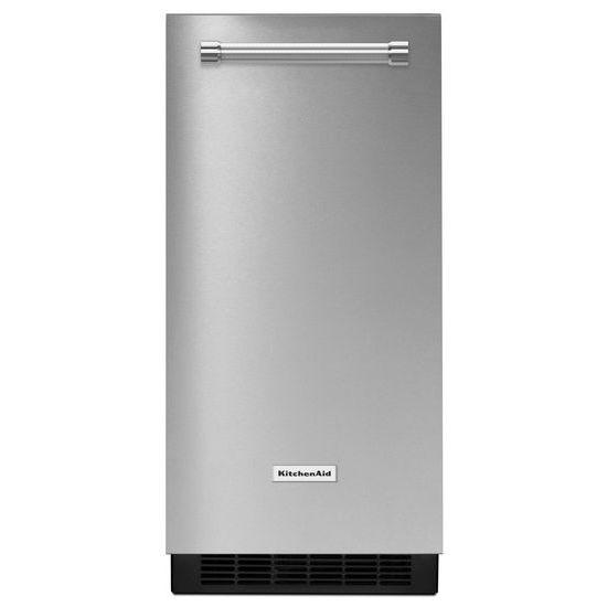 Model: KUIX335HPS | KitchenAid 15'' Automatic Ice Maker with PrintShield™ Finish