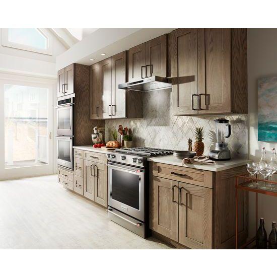 "Model: KVUB406GSS | KitchenAid 36"" Low Profile Under-Cabinet Ventilation Hood"