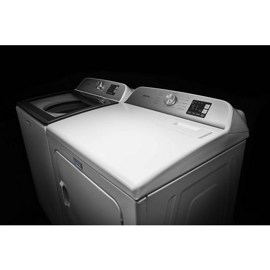 Model: MED6200KW | Maytag Top Load Electric Dryer with Moisture Sensing - 7.0 cu. ft.