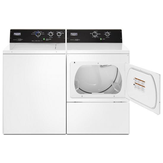 Model: MEDP575GW | Maytag 7.4 cu. ft. Commercial-Grade Residential Electric Dryer