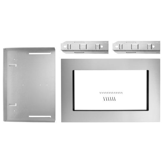 """Unbranded 27"""" Trim Kit for 1.5 cu. ft. Countertop Microwave Oven with Convection Cooking"""