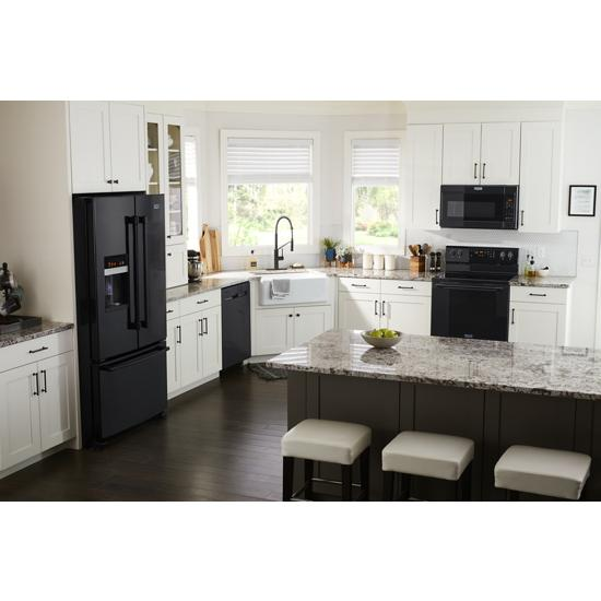 Model: MMV4207JB | Maytag Over-the-Range Microwave with Dual Crisp feature - 1.9 cu. ft.