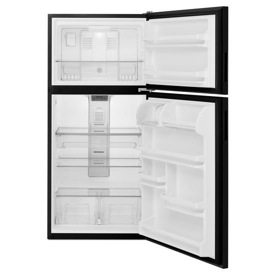 Model: MRT118FFFE | Maytag 30-Inch Wide Top Freezer Refrigerator with PowerCold® Feature- 18 Cu. Ft.