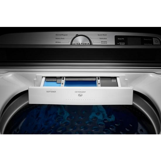 Model: MVW6230RHW | Maytag Smart Capable Top Load Washer with Extra Power Button - 4.7 cu. ft.
