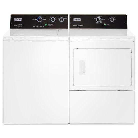 Model: MVWP575GW | Maytag 3.5 cu. ft. Commercial-Grade Residential Agitator Washer