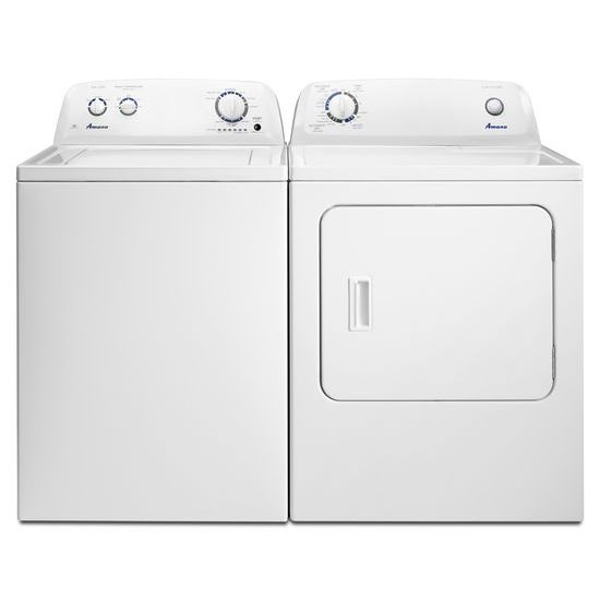 Model: NED4655EW | Amana 6.5 cu. ft. Electric Dryer with Wrinkle Prevent Option