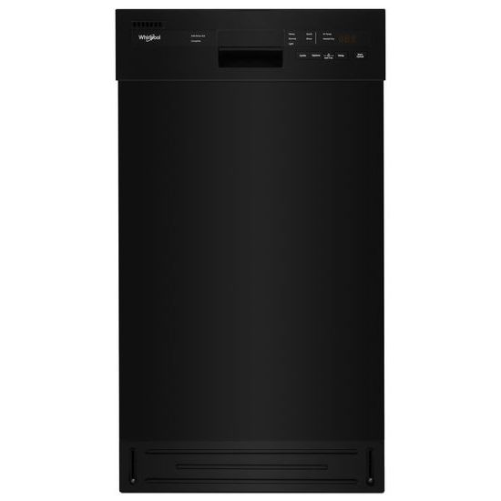 Whirlpool Small-Space Compact Dishwasher with Stainless Steel Tub