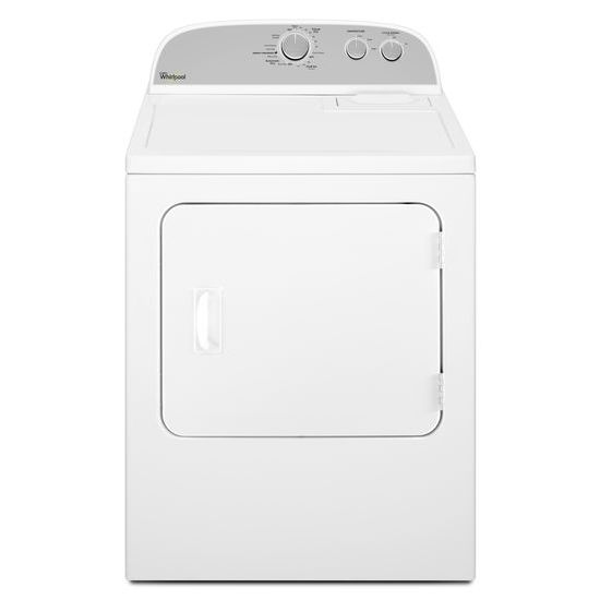 Model: WED4815EW | Whirlpool 7.0 cu.ft Top Load Electric Dryer with AutoDry™