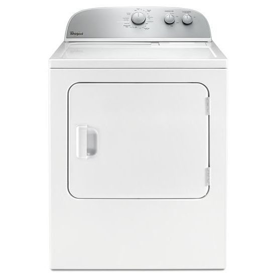 Whirlpool 5.9 cu.ft Top Load Electric Dryer with AutoDry™ Drying System