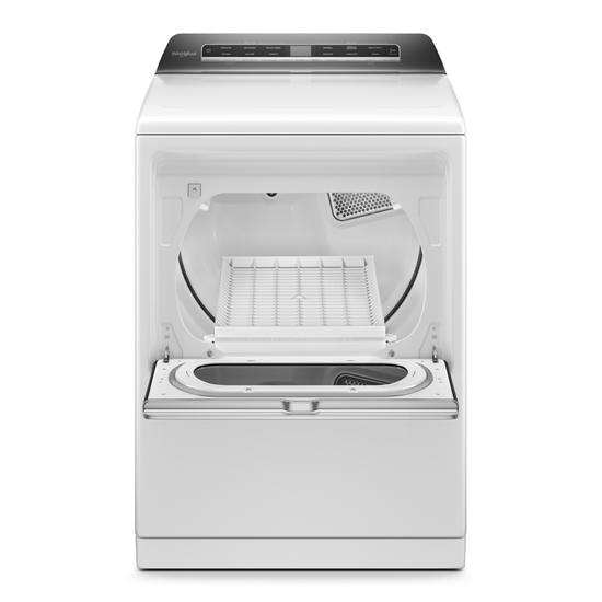 Model: WED8127LW | Whirlpool 7.4 cu. ft. Top Load Electric Dryer with Advanced Moisture Sensing
