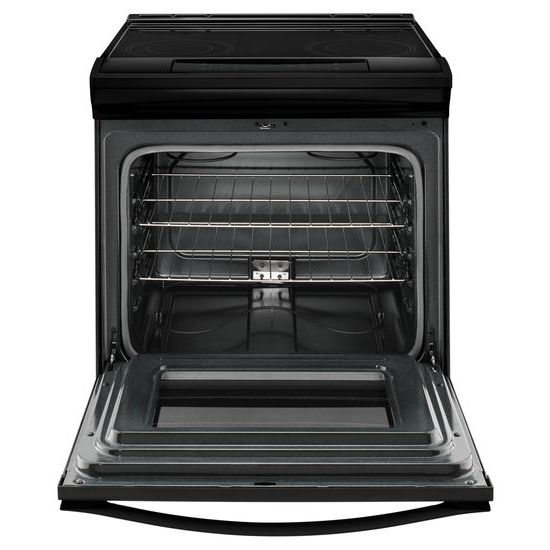 Model: WEE510S0FB   Whirlpool 4.8 cu. ft. Guided Electric Front Control Range With The Easy-Wipe Ceramic Glass Cooktop