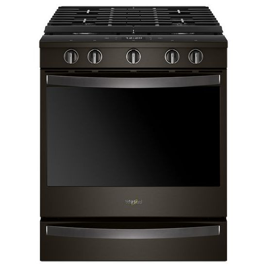 Whirlpool 5.8 cu. ft. Smart Slide-in Gas Range with EZ-2-Lift™ Hinged Cast-Iron Grates