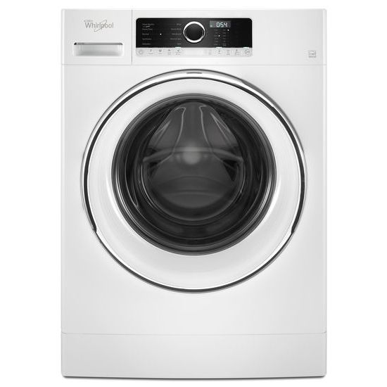 """Whirlpool 2.3 cu. ft. 24"""" Compact Washer with Detergent Dosing Aid option"""