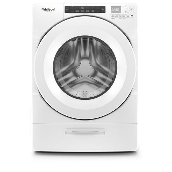 Whirlpool 4.5 cu. ft. Closet-Depth Front Load Washer with Load & Go™ Dispenser
