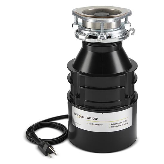 Model: WG1202PH   Whirlpool 1/2 HP In-Sink Disposer