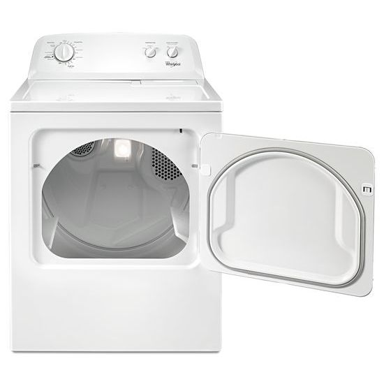 Model: WGD4616FW | Whirlpool 7.0 cu.ft Top Load Gas Dryer with AutoDry™