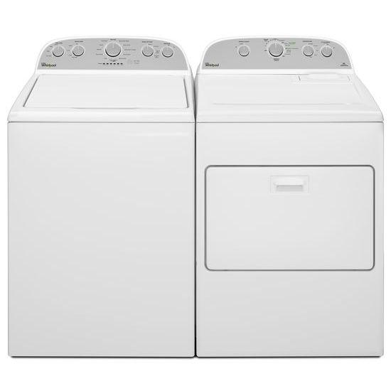 Model: WGD5000DW | Whirlpool 7.0 cu.ft Top Load Gas Dryer with Wrinkle Shield™ Plus