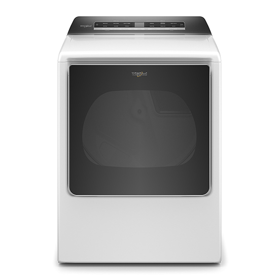 Whirlpool 8.8 cu. ft. Smart Capable Top Load Gas Dryer